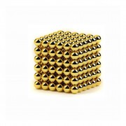Neocube (216 balls, 5 mm) Golden