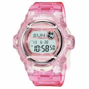 reloj digital estandar casio baby-g BG-169R-4 - rosa
