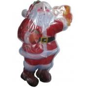 Панно объемное, Санта с колокольчиками.