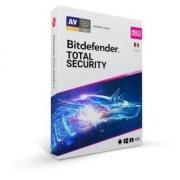 Bitdefender Total Security 2021 - protectie anti-malware , pentru Windows, macOS, iOS si Android, valabila pentru 1 an, 10 dispozitive, new