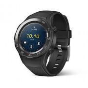 Huawei , Reloj Pulsera Watch 2, Negro carbón; Android Wear 2.0 (Garantía de EE. UU.)