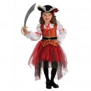Costum de carnaval pentru fetite Printesa Marilor, 3 ani+