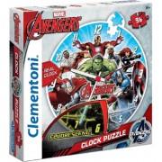 Puzzle Reloj Avengers - Vengadores - Clementoni