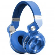 BLUEDIO T2+ Over-ear Stereo Headphone Wireless Bluetooth 4.1 Headset with Mic - Blue