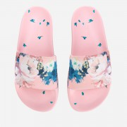 Ted Baker Women's Avelini Floral Slide Sandals - Light Pink - UK 6 - Pink