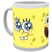 SpongeBob - Expressions - kerámia bögre