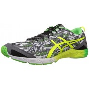 ASICS Men's Gel-Hyper Tri Black,Flash Yellow and Flash Green Mesh Triathlon Shoes - Running Shoes - 7 UK
