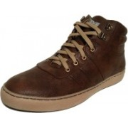 Madoks Men's Handmade Casual Shoes Casuals For Men(Brown)