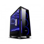 Carcasa Segotep Halo 6 Plus, Middle Tower, Plexiglass (Negru)
