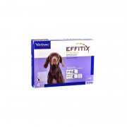 Virbac Effitix spot On M (10 - 20kg) 4 Pipetas
