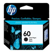 Cartucho de tinta HP 60 negro CC640WL
