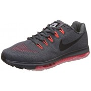 Nike Men's Air Zoom Pegasus All Out Flyknit Black Running Shoes - 10 UK/India (45 EU)(11 US)(844979-001)