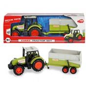 Tractor cu remorca de jucarie Dickie Toys