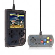 Hongxin Retro Mini Handheld Video Game Console,Built-in 168 Classic Games for Children with Controller (Black)