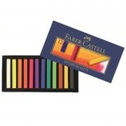 Creioane colorate Pastel Soft 12 culori Faber-Castell