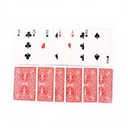 AST Works 2 Set Magic 3 Three Card Trick Card Easy Classic Magic Playing Cards for Fun LE