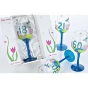 Dream Price Direct Get a Julie Childs birthday dragonfly wine glass!