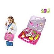 DOCTOR SET Doctor Nurse family oprated Set Medical SuitcaseToy For Kids (Blue color)
