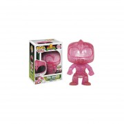 Funko Pop Pink Power Ranger Teleporting Only Gamestop Sticker