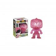 Funko Pop Pink Power Ranger Teleporting Only Gamestop Sticker