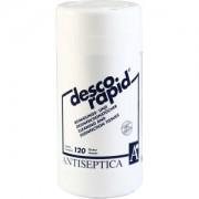 Antiseptica Descorapid Reinigungs- und Desinfektionstücher, Tücher für die Haut- und Flächendesinfektion, 1 Dose = 120 Stück