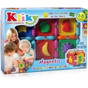 Kliky - Set Magnetic Sa Invatam Fructele Supermag