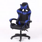 RACING PRO X Scaun gamer, albastru-negru Transport gratuit-Sunteți online? Gata cu durerile de spate .