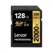 Lexar SDXC Professional 2000X 128GB UHS-II, 300MB/s