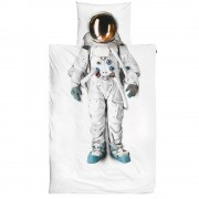 SNURK Astronaut dekbedhoes JUNIOR - Wit - Size: 1