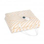 Klarstein Dr. Watson XXL, отоплително одеяло, 120 W, 200 x 180 см, coral fleece, бежово, черти (HZD2-DeWatsonXXL-BE)
