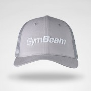 GymBeam Šilterica Mesh Panel Cap Grey uni