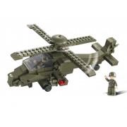 Sluban Bouwstenen Army Serie Gevechtshelikopter
