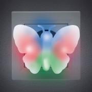 Pillangó formájú irányfény színes