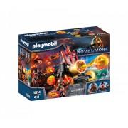Set de joaca Playmobil Banditi Burnham Si Catapulta Lava