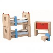 MOBILIER PENTRU CASUTA PAPUSII - CHILDREN'S ROOM - PLAN TOYS (PLAN7304)