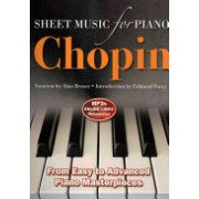 Frederic Chopin: Sheet Music for Piano - From Easy to Intermediate; Over 25 Masterpieces(Spiral bound) (9780857756008)