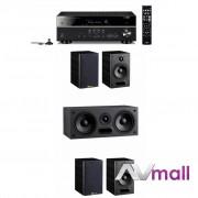 Pachet Receiver AV Yamaha RX-V581 + Sistem de Boxe 5.0 Davis Acoustics Maya 2