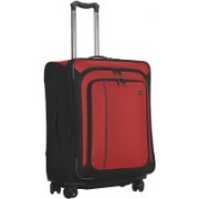 Victorinox WT 24 Dual-Caster Expandable Check-in Luggage - 24 inch(Red)