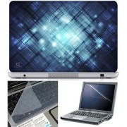 Finearts Laptop Skin Abstract Series 1057 With Screen Guard And Key Protector - Size 15.6 Inch