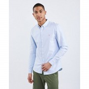 Farah Brewer Slim Longsleeve Bd - Heren