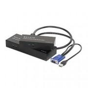 Belkin OmniView USB CAT5 Extender & KVM Switch Nero Switch per keyboard-video-mouse (KVM)