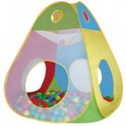 Cort de Joaca Pentru Copii cu 100 Bile Happy Children - Brody