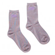 Bamboo Socks Solid Space Coral: 41-45