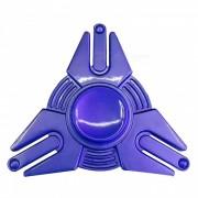 OJADE Iron Man Shape Fidget Lanzamiento Manos Spinner - Azul