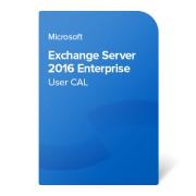 Microsoft Exchange Server 2016 Enterprise User CAL, PGI-00685 elektronički certifikat