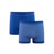 G Gregory Boxershort G Gregory Royal blue::Wit
