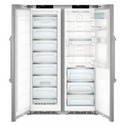 Combina frigorifica Side by Side Liebherr SBSes 8773, No Frost, Biofresh, 635L, clasa A+++, inox