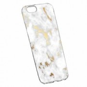 Husa Silicon Transparent Slim Marble 136 Huawei Honor 4C G Play Mini