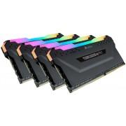 Corsair Vengeance RGB Pro Schwarz 64GB DDR4 Kit 3000 (4x16GB) C15 K4