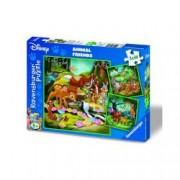 Puzzle Bambi Baloo Si Simba 3X49 Piese